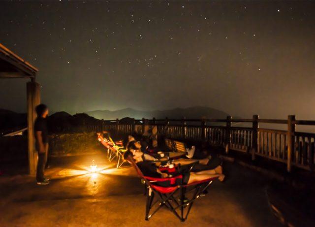 甑島の夜空
